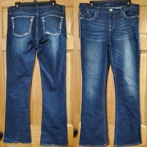 Rock & Republic Kasandra Bootcut Jeans 12M